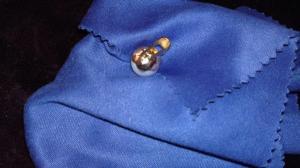 Ciondolo con perla in oro giallo