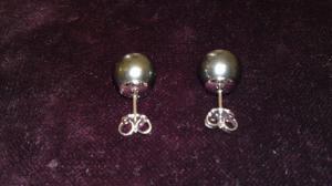 Orecchini Con perle Nere