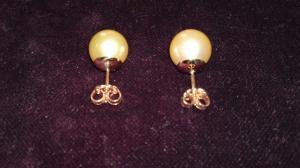 Orecchini con Perle gialle
